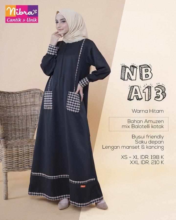 jual-gamis-katun-nibras-terbaru-nb-a13_hitam5296428919697350201..jpg