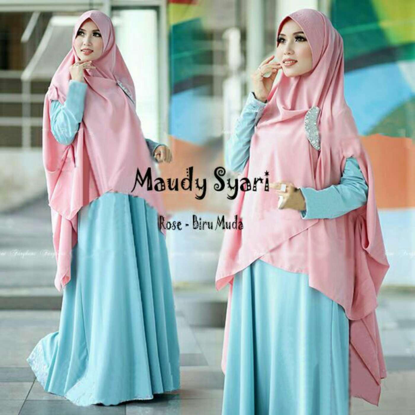 Model-Baju-Gamis-Syari-Modern-Terbaru-Cantik-dan-Murah-Warna-Biru.jpg