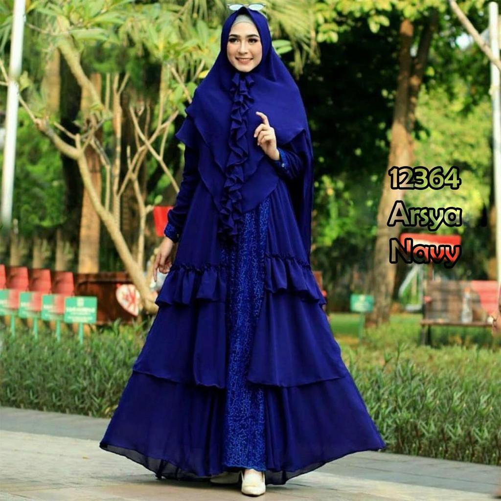 Baju-Gamis-Terbaru-2019-DES95-Busana-Syari-dan-Modern-untuk-Remaja.jpg