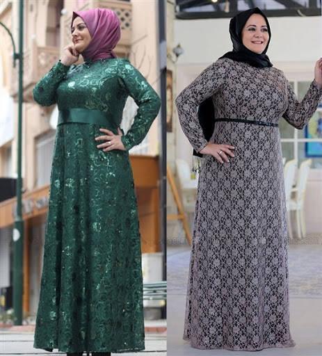 gamis-batik-kombinasi-brokat-wanita-gemuk-update.jpg