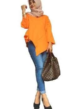 MF_Baju_Atasan_Baju_Muslim_Baju_Wanita_Blouse_Muslim_B202_Orange_1.jpg