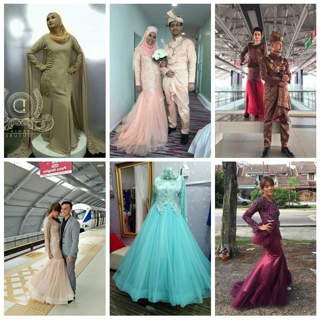 Bentuk Baju Pengantin Muslimah Online Dddy Singaporebridaltailor Instagram S and Videos