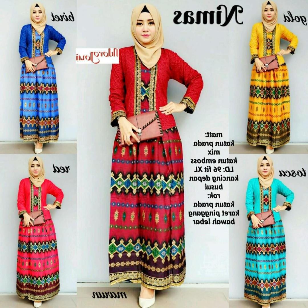 Bentuk Baju Pengantin Muslimah Online Tldn Nimas Set Women S Fashion Muslimah Fashion On Carousell