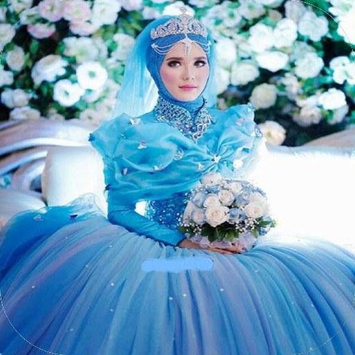 Bentuk Gaun Kebaya Pengantin Muslim E6d5 Muslim Wedding Dress Aplikacije Na Google Playu