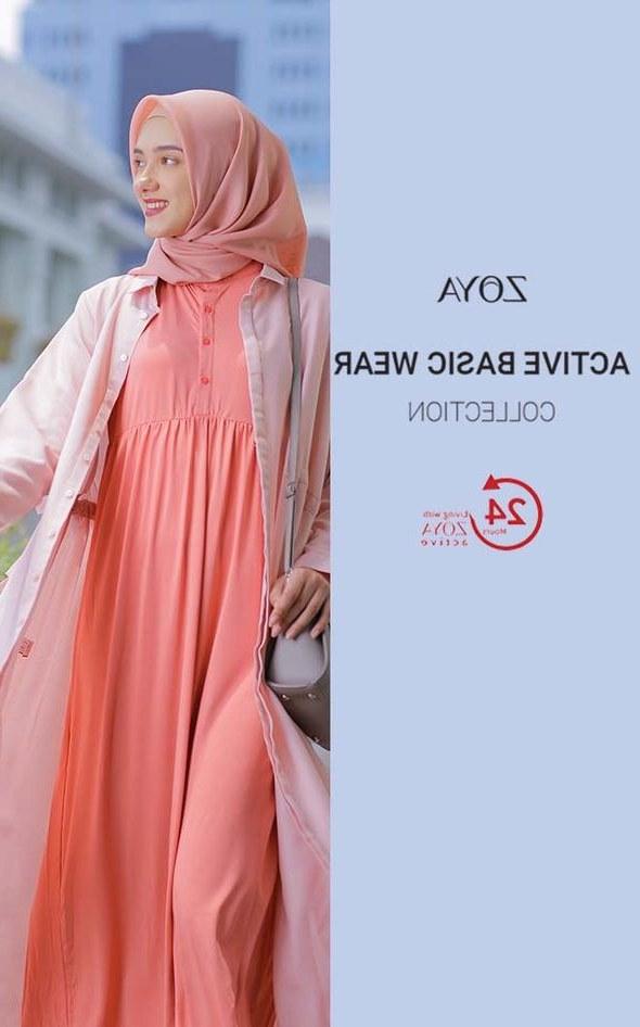 Bentuk Gaun Pengantin Muslim Putih 3id6 Zoya