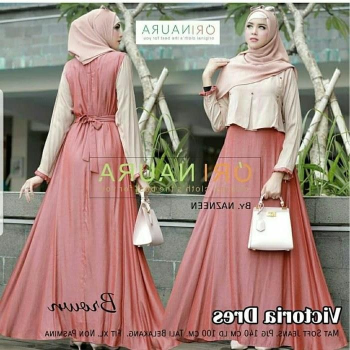 Bentuk Gaun Pengantin Wanita Muslimah Gdd0 Jual Od Maxi Victoria Dress Setelan Gamis Syari Muslim Wanita Terbaru Dki Jakarta Ferisna Os