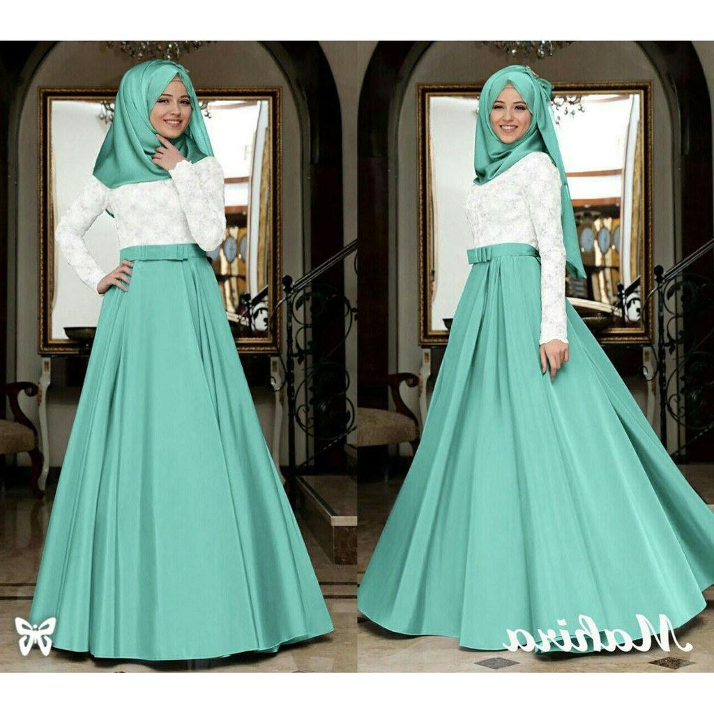 Bentuk Harga Gaun Pengantin Muslimah Syar'i 9fdy Dress Muslimah Mahira Glitter