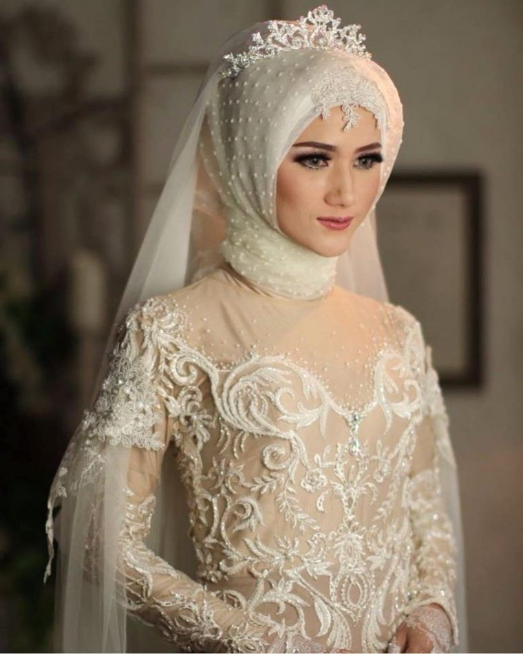 Bentuk Harga Gaun Pengantin Muslimah Syar'i Jxdu Model Gaun Pengantin Muslimah Modern Elegan Dan Indah