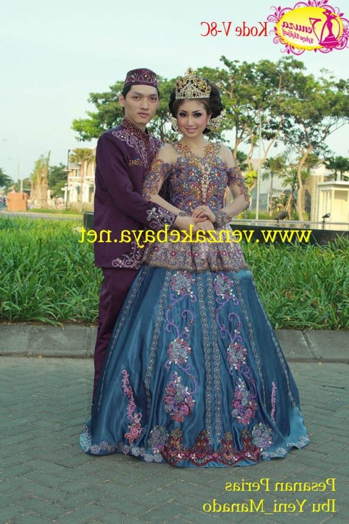 Bentuk Harga Gaun Pengantin Muslimah Syar'i Qwdq Venza Kebaya Rias Bless Salon by Venza Kebaya & Wedding