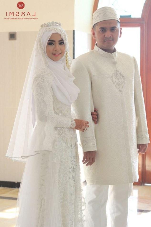Bentuk Harga Gaun Pengantin Muslimah Syar'i Zwd9 Model Gaun Pengantin Muslimah Modern Elegan Dan Indah