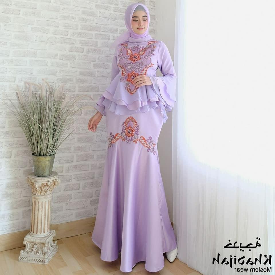 Bentuk Jual Baju Pengantin Muslimah Online S1du Model Baju Gamis Duyung