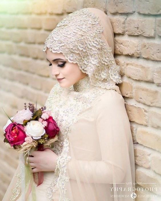 Bentuk Kebaya Pernikahan Muslimah Terindah 3id6 Model Kebaya Akad Nikah Hijab Model Kebaya Terbaru 2019