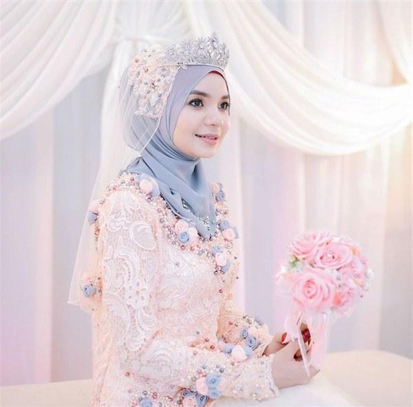 Bentuk Kebaya Pernikahan Muslimah Terindah Ftd8 Model Kebaya Akad Nikah Hijab Model Kebaya Terbaru 2019
