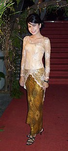 Bentuk Model Baju Kebaya Pengantin Muslimah S1du Kebaya