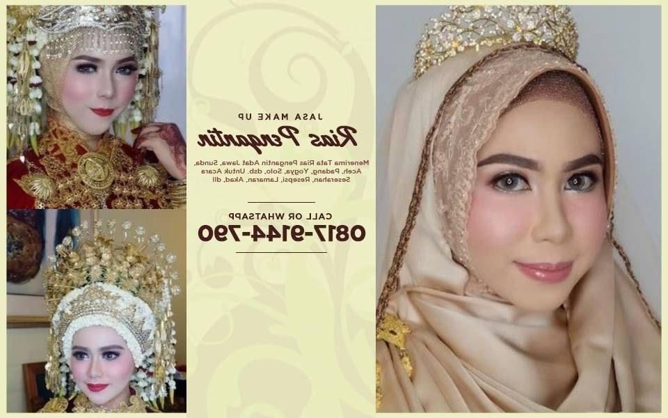 Bentuk Sewa Gaun Pengantin Muslimah Jogja S1du Harga Promo Wa 0817–9144–790 — Paket Make Over Rias