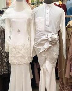 Contoh Gaun Pengantin Muslimah Warna Putih 4pde 144 Best Baju Nikah Putih Images In 2019
