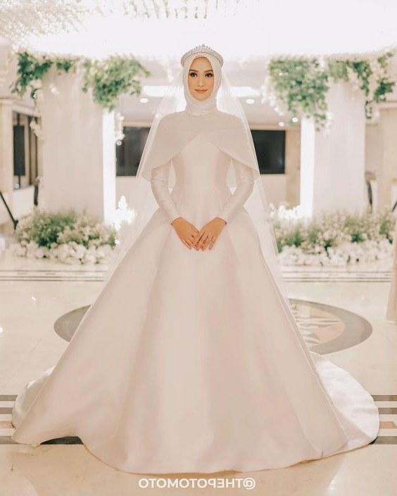 Contoh Gaun Pengantin Muslimah Warna Putih Xtd6 Nayaka Idrissi Nayakaidrissi On Pinterest