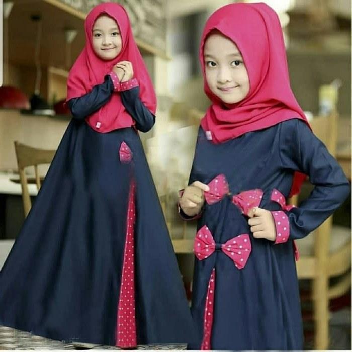 Design Baju Muslim Pengantin 4pde Jual Od 3 Wrn Syari Kid Rosa Gamis Baju Busana Muslim Anak Perempuan Dki Jakarta Ferisna Os