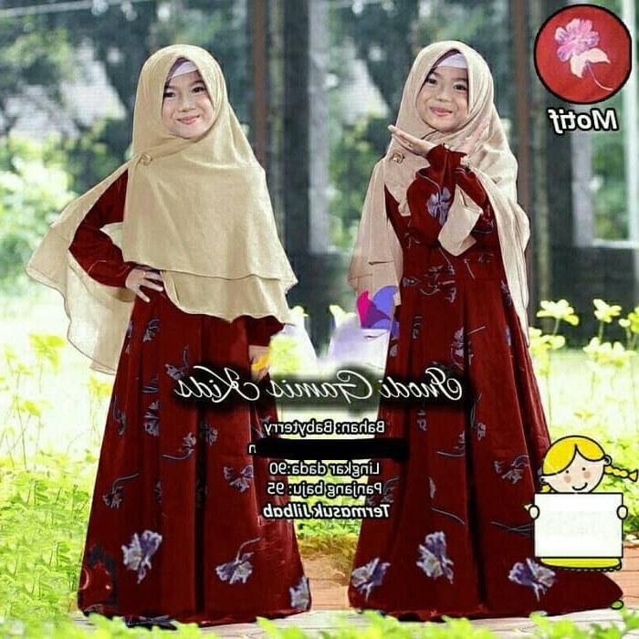 Design Baju Muslim Pengantin Budm Jual Namira Fashoin New Baju Muslim Gamis Anak Syari Kids Inodi Od Muat Unt Dki Jakarta Mega Store99