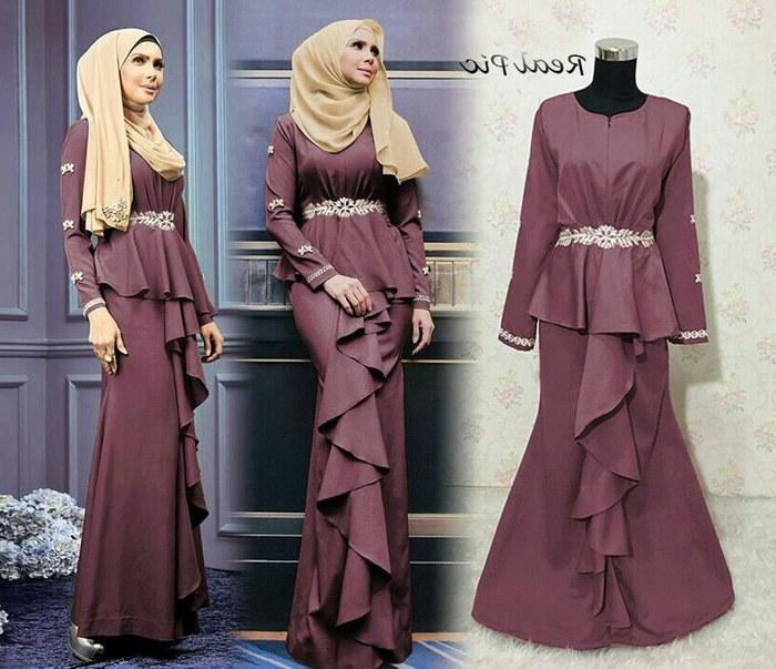 Design Baju Muslim Pengantin Modern Dwdk 30 Model Baju Gamis Duyung Kekinian Fashion Modern Dan