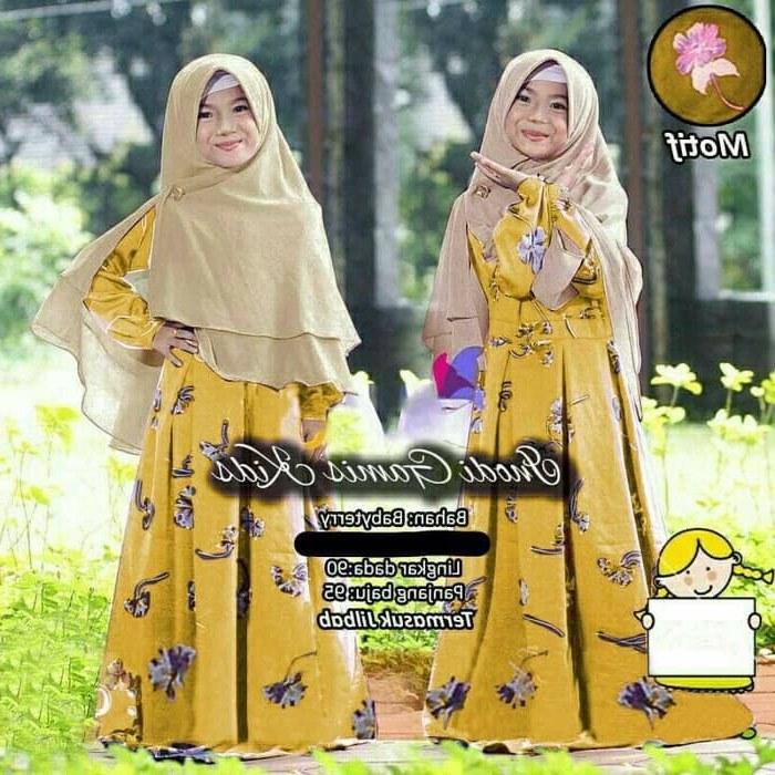 Design Baju Muslim Pengantin Qwdq Jual Namira Fashoin New Baju Muslim Gamis Anak Syari Kids Inodi Od Muat Unt Dki Jakarta Mega Store99