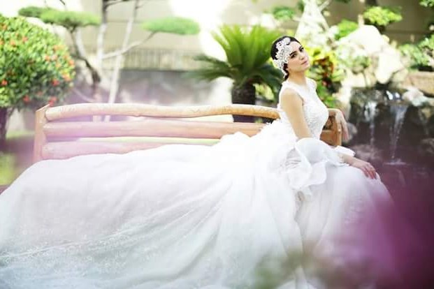 Design Baju Resepsi Pernikahan Muslimah Budm Eji atelier