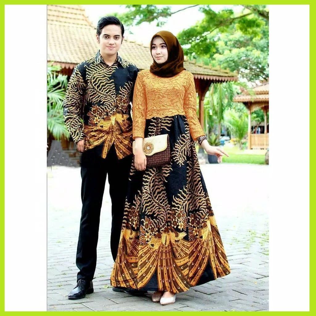 Design Baju Resepsi Pernikahan Muslimah U3dh Bayar Di Tempat Batik Couple Batik Couple Modern Couple Batik Baju Muslim Wanita Terbaru 2019 Couple Batik Batik Sarimbit Baju Batik