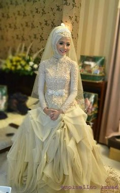 Design Gaun Pengantin 2016 Muslim 3id6 10 Gambar Bursa Berita Lampung Terbaik Di 2016