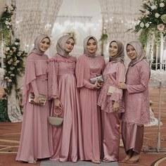 Design Gaun Pengantin Brokat Muslim Q0d4 551 Best Seragam Pesta Images In 2019
