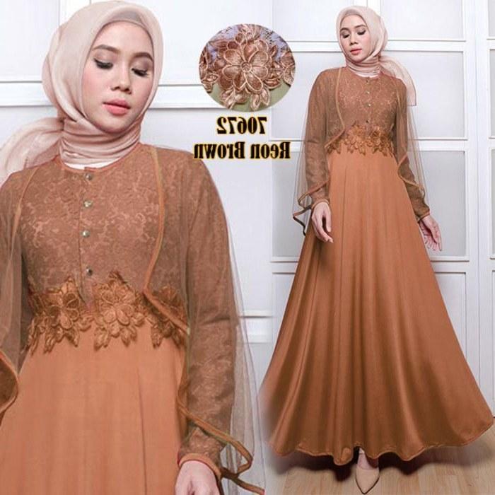 Design Gaun Pengantin Brokat Muslim U3dh Model Baju Batik Brokat Terbaru