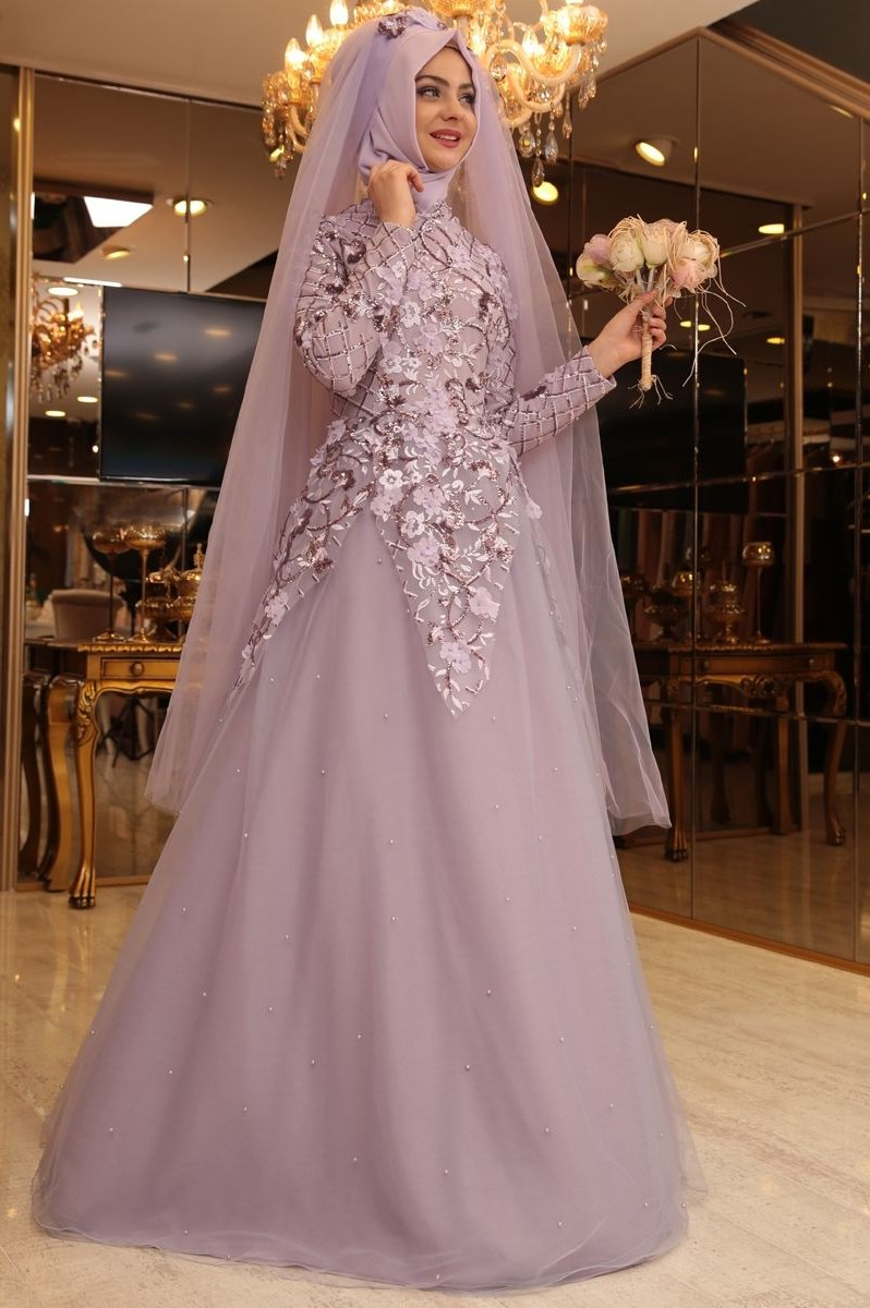 Design Gaun Pengantin Brokat Muslimah Ipdd Gaun Pengantin Untuk Berhijab