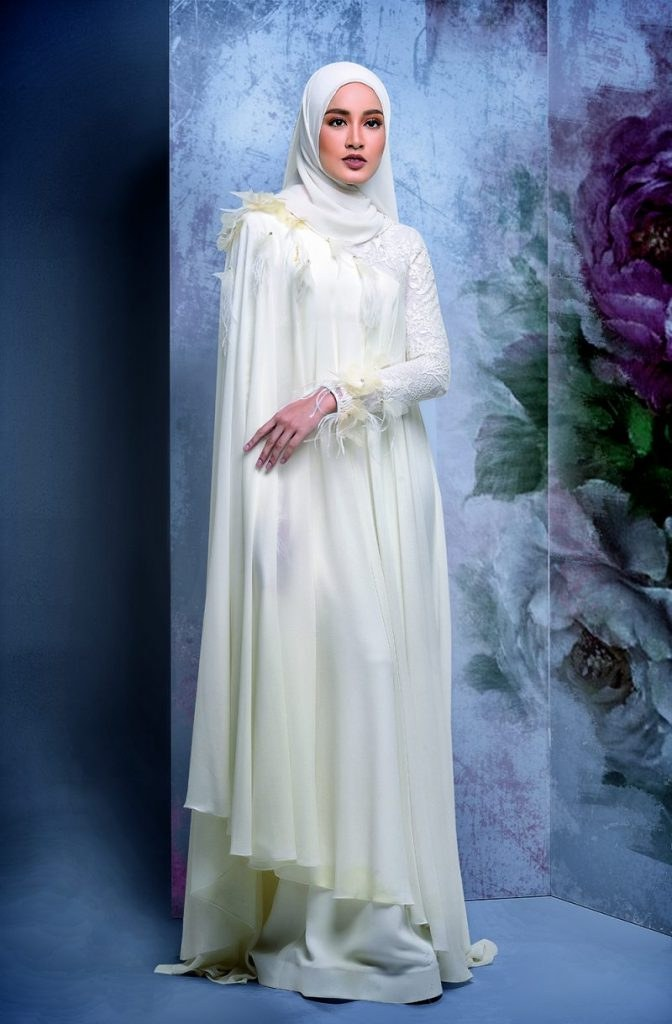 Design Gaun Pengantin Muslimah 2018 3id6 9 Idea Baju Kahwin Untuk Pengantin Berhijab Wajib Tengok