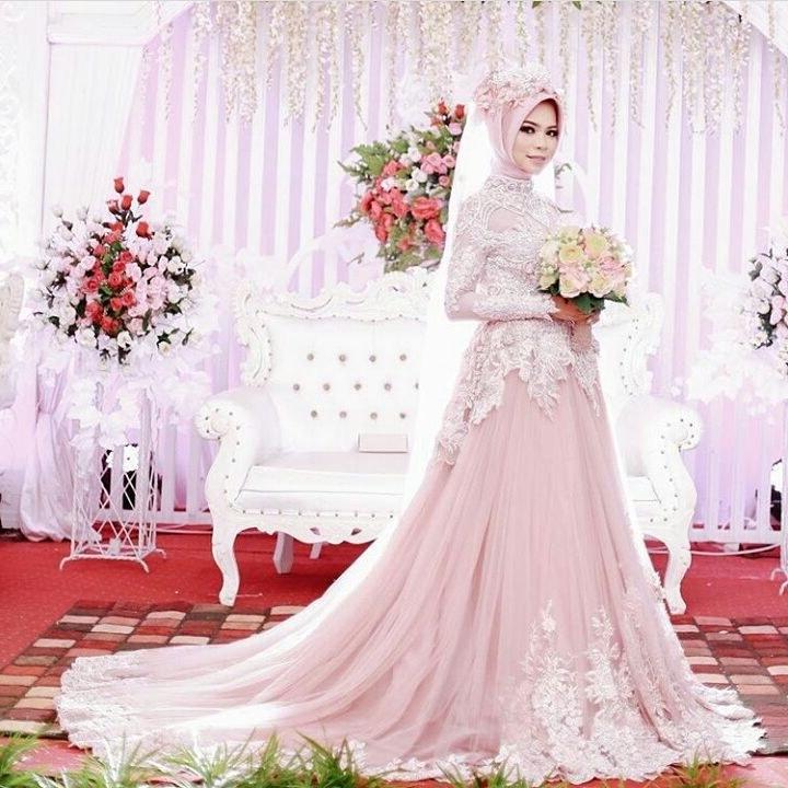 Design Gaun Pengantin Muslimah 2018 87dx Baju Pengantin Archives Baju Pengantin Muslim
