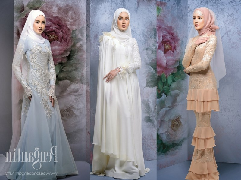 Design Gaun Pengantin Muslimah 2018 Q0d4 9 Idea Baju Kahwin Untuk Pengantin Berhijab Wajib Tengok