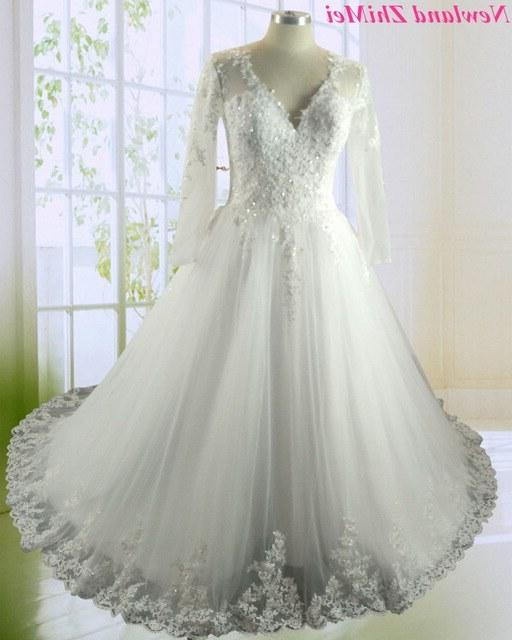 Design Gaun Pengantin Muslimah 2018 Tqd3 Us $219 0 Wanita Cantik Lengan Panjang Gaun Pengantin Muslim Gaun Pengantin Da 2018 Antik Mermaid Lace Wedding Dresses Di Wedding Dresses Dari