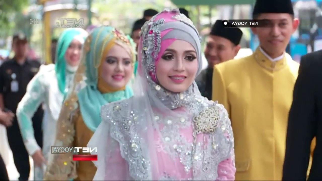 Design Gaun Pengantin Muslimah Adat Jawa Y7du Net Yogya Peragaan Busana Pengantin Muslim