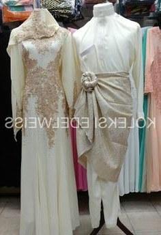 Design Gaun Pengantin Muslimah Gold Qwdq 16 Best Gaun Pengantin Muslimah Malaysia Images