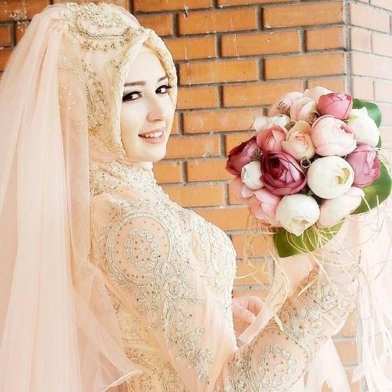 Design Gaun Pengantin Muslimah Termewah 9fdy 20 Model Baju Pengantin Muslimah Modern Terbaru