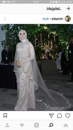 Design Gaun Pengantin Muslimah Warna Hijau 4pde 80 Best Gaun Pengantin Images In 2019