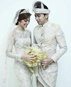 Design Gaun Pengantin Muslimah Warna Hijau 8ydm 2589 Best Tenun Ikat songket Images