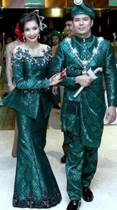 Design Gaun Pengantin Muslimah Warna Hijau D0dg 222 Best songket Fashion Images In 2019