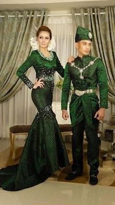 Design Gaun Pengantin Muslimah Warna Hijau Kvdd 222 Best songket Fashion Images In 2019