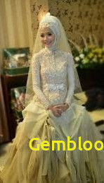 Gaun Pengantin Berhijab Awesome 9 Best Gaun Pengantin Model Kebaya Images In 2016