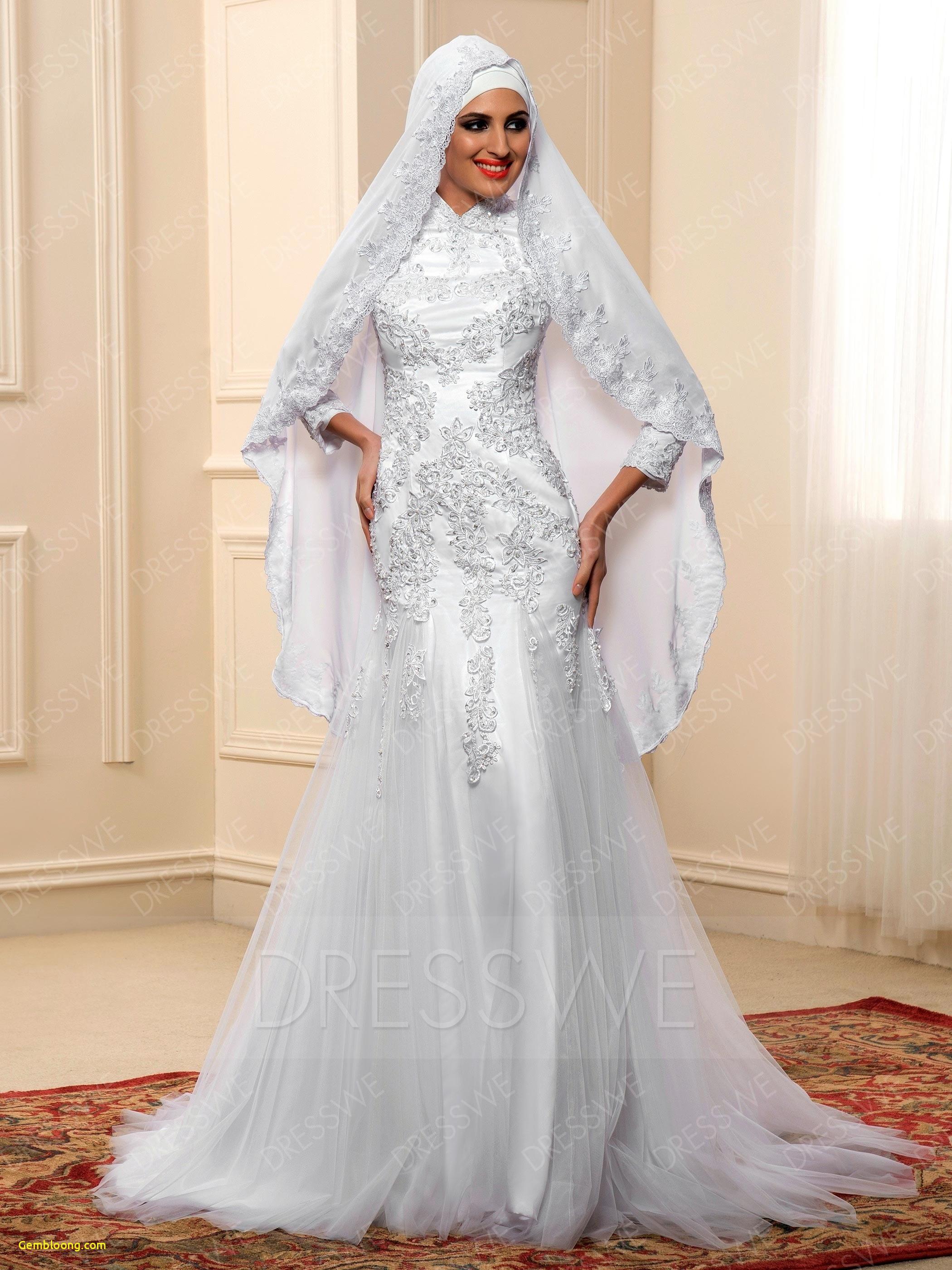 Gaun Pengantin Berhijab Fresh Baju Nikah Muslim Cantik Mewah Gaun Pengantin Berhijab