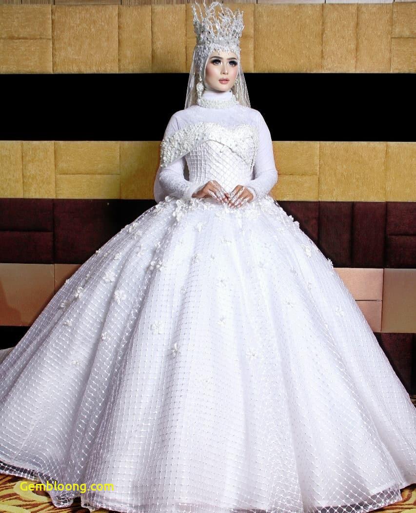 Gaun Pengantin Berhijab Lovely Gaun Pengantin Muslimah Warna Putih