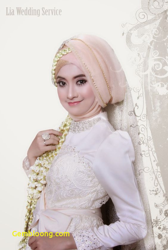 Gaun Pengantin Berhijab Luxury 30 Model Hijab Pagar Ayu Terbaru