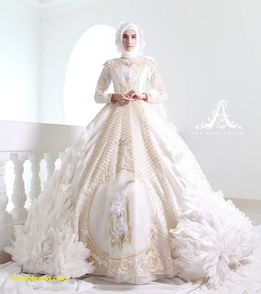 Gaun Pengantin Berhijab Luxury Baju Pengantin islami Modern Gambar islami