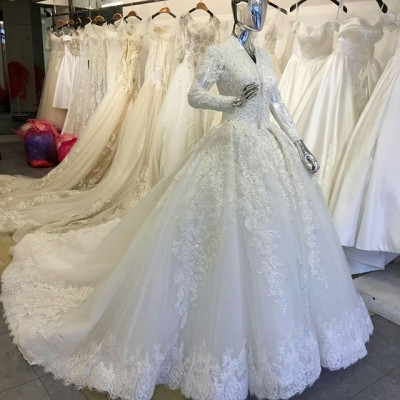 Gaun Pengantin Cantik Berhijab Awesome Jual Gaun Pengantin Berhijab Warna Putih