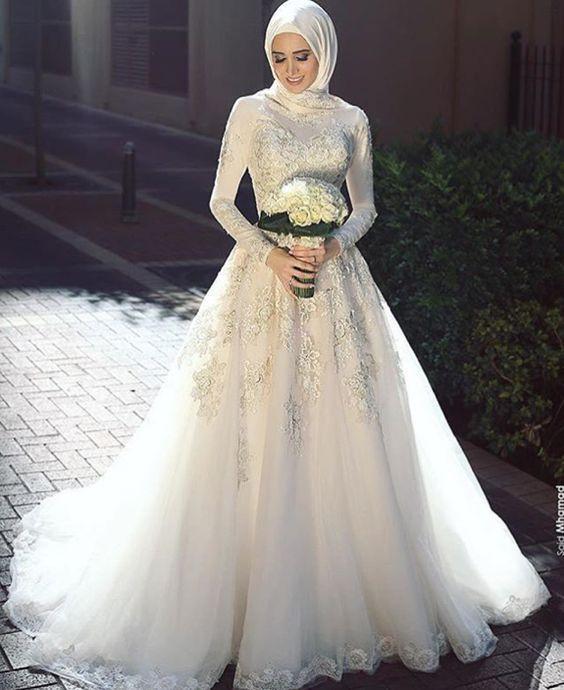 Gaun Pengantin Cantik Berhijab Best Of Inspirasi Baju Pengantin Muslimah Yang Bisa Kamu Tiru Untuk