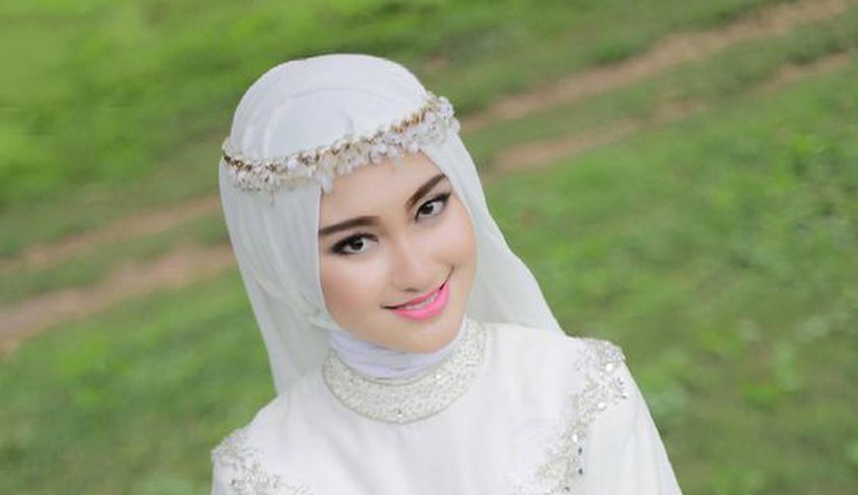Gaun Pengantin Cantik Berhijab Fresh Gaun Pengantin Berhijab Putih Nan Anggun Yang Bikin Pangling